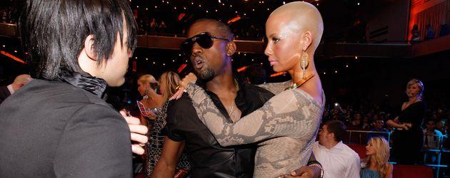Kanye West und Amber Rose im Jahr 2009