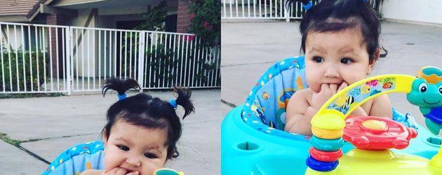 Ameera, das Töchterchen von Jasmine Villegas