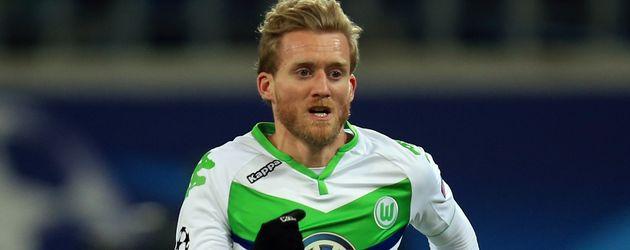 VfL Wolfsburg-Kicker André Schürrle bei der UEFA Champions League