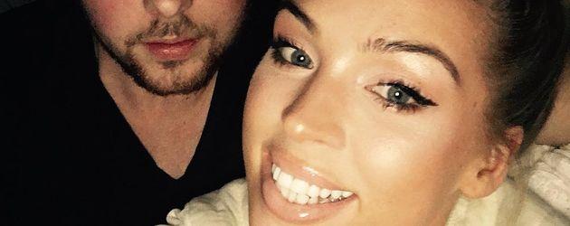 Sängerin Aneta Sablik mit ihrem Verlobten Kevin