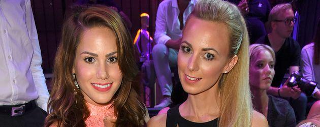 Angelina Heger und Syra Feiser bei der Düsseldorfer Fashion Week