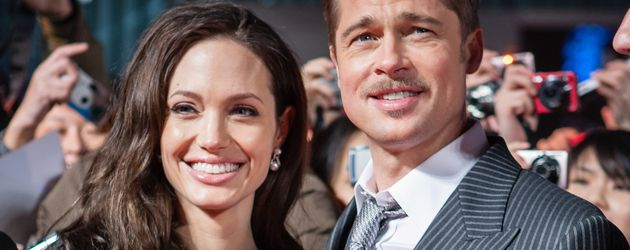 Angelina Jolie und Brad Pitt auf dem Red Carpet in Japan