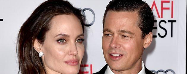Angelina Jolie und Brad Pitt im November 2015 in Los Angeles