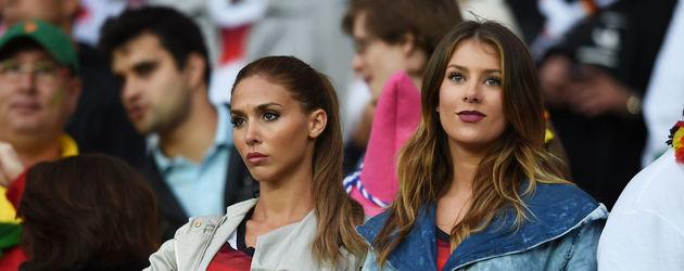 Ann-Kathrin Brömmel und Montana Yorke bei der WM 2014