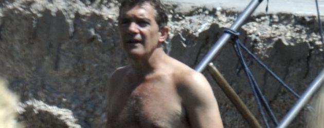 Antonio Banderas auf der italienischen Insel Ischia