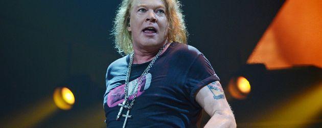 Axl Rose, Frontsänger von Guns N' Roses
