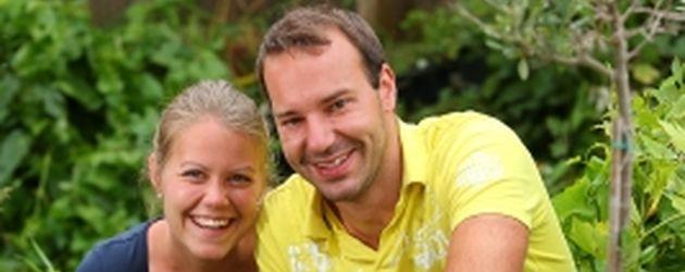"""Barbara und Christian bei """"Bauer sucht Frau"""" 2016"""