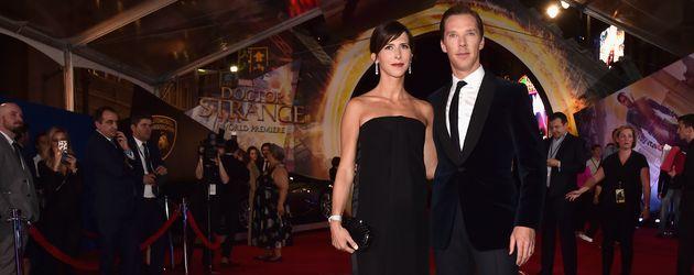 """Benedict Cumberbatch und Sophie Hunter auf der """"Doctor Strange""""-Premiere in Los Angeles"""