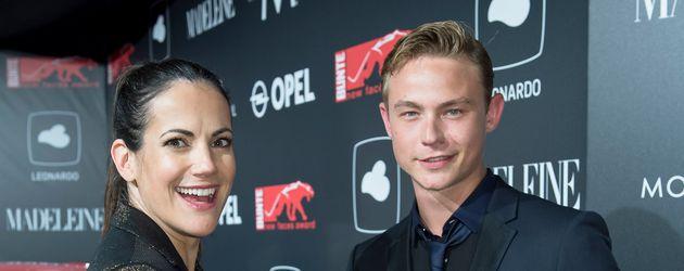Bettina Zimmermann und Dennis Mojen