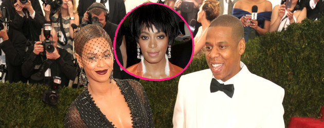Beyonce, Jay-Z und Solange Knowles