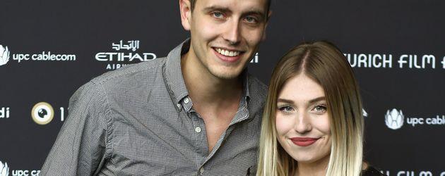 """Julian Claßen und Bibi Heinicke beim """"Zürich Film Festival"""""""