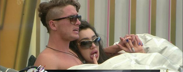 """Big Brother""-Kandidaten Stephen Bear und Chloe Khan"