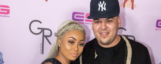 Blac Chyna und Robert Kardashian in Los Angeles