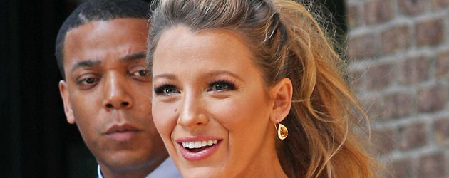 Blake Lively mit Babybauch unterwegs in New York