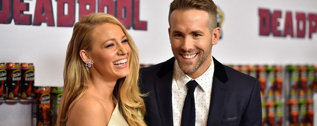 "Blake Lively und Ryan Reynolds bei der Premiere von ""Deadpool"" in New York"