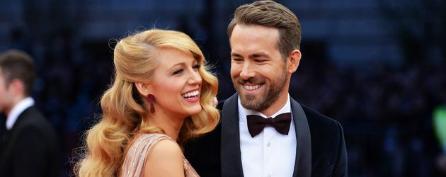 Blake Lively und Ryan Reynolds auf der Charles James: Beyond Fashion Gala in New York