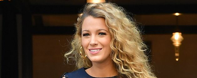 Blake Lively im New Yorker Stadtteil Greenwich Village