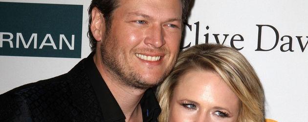 Blake Shelton und Miranda Lambert