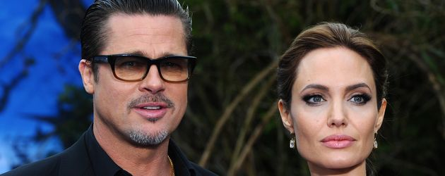 """Brad Pitt und Angelina Jolie bei der Premiere von """"Maleficent"""" in London"""