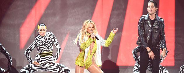 Britney Spears auf der Bühne der VMAs 2016
