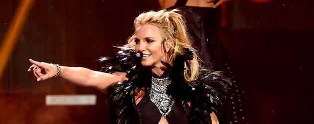 "Britney Spears beim ""iHeartRadio""-Festival in Las Vegas 2016"