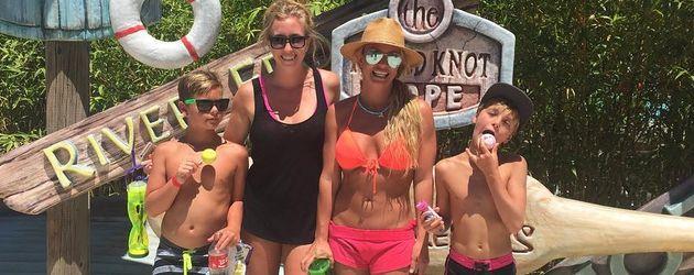 Britney Spears und ihre Söhne Jayden und Sean Preston