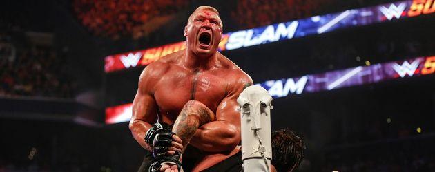 Brock Lesnar und der Undertaker in New York City