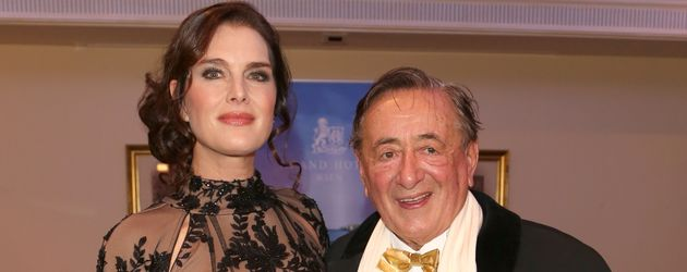 Brooke Shields und Richard Lugner