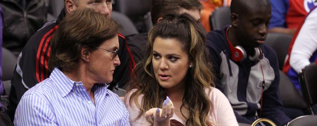 Khloe Kardashian und Bruce Jenner