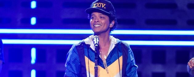 Bruno Mars bei der Verleihung der 2016 American Music Awards im Microsoft Theatre in Los Angeles