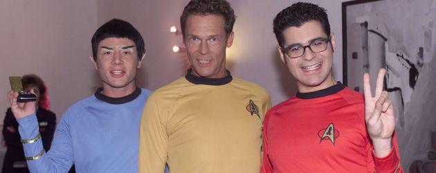 "Michael Bully Herbig, Christian Tramitz und Rick Cavanian bei ""Die SAT.1 Comedy Gala"""
