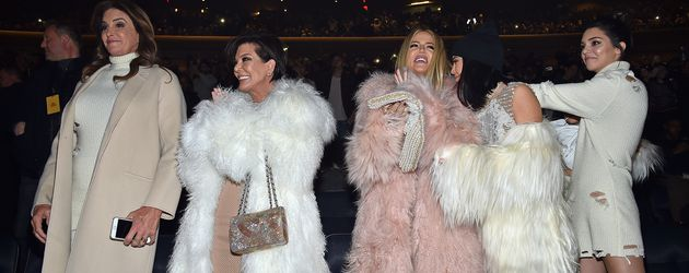 Caitlyn und Kris Jenner, Khloe Kardashian, Kylie Jenner und Kendall Jenner