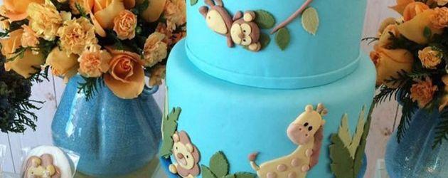 So feierte Candice Swanepoel ihre Baby-Shower