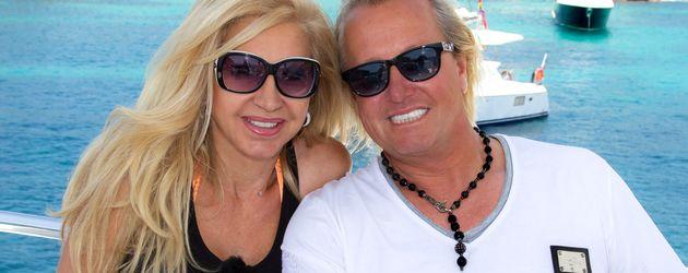 Carmen Geiss und Robert Geiss im Urlaub