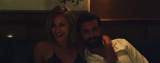 Caroline Flack mit Blue Logan