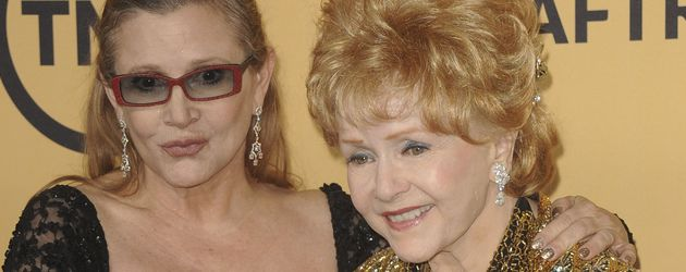 Carrie Fisher und Debbie Reynolds