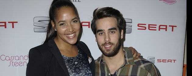 Cassandra Steen und Ehemann Stephan Kocijan