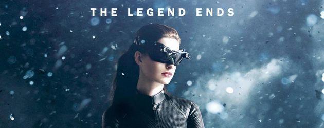 """Catwoman auf dem Plakat von """"The Dark Knight Rises"""""""