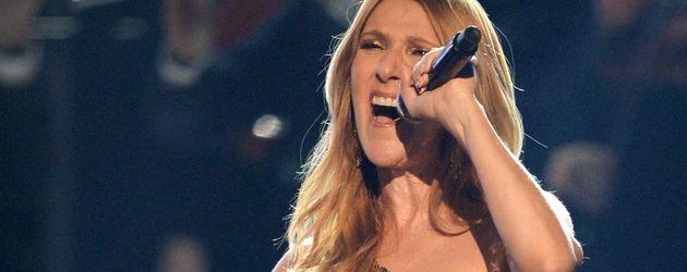 Céline Dion während ihres Auftritts bei dem Billboard Music Awards