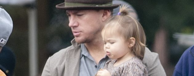 Channing Tatum und Everly Tatum