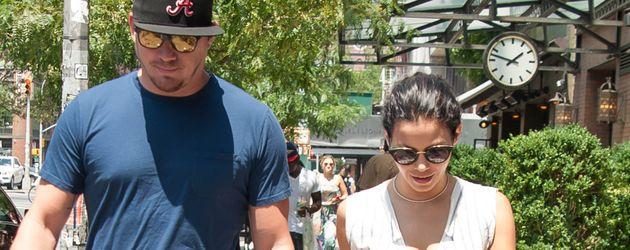 Channing Tatum mit seiner Frau Jenna