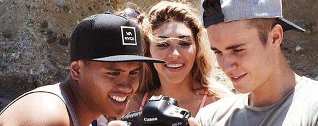 Chantel Jeffries und Justin Bieber