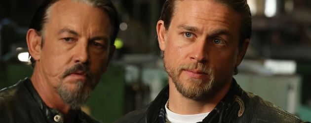 "Tommy Flanagen und Charlie Hunnam in ""Sons of Anarchy"""