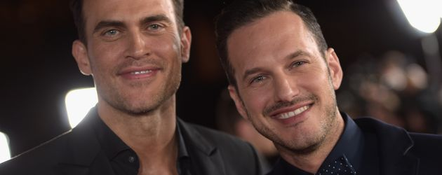Cheyenne Jackson und Jason Landau in Hollywood