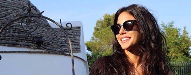 Chiara Biasi, Freundin von Italiens Spieler Simone Zaza