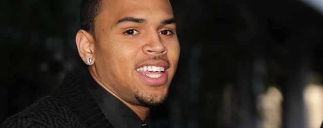 Chris Brown bei einem Gerichts-Prozess