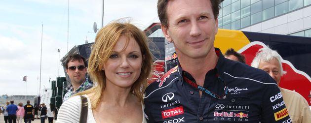 Geri Halliwell und Christian Horner