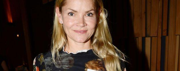 Christina Knudsen bei einem Fundraiser-Event
