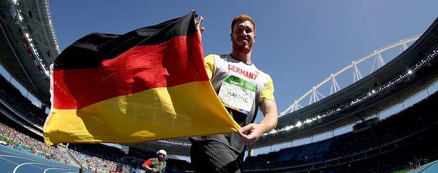 Christoph Harting, Olympia-Gewinner 2016 im Diskuswurf
