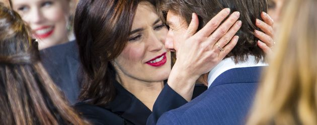 Cobie Smulders und Tom Cruise in Berlin